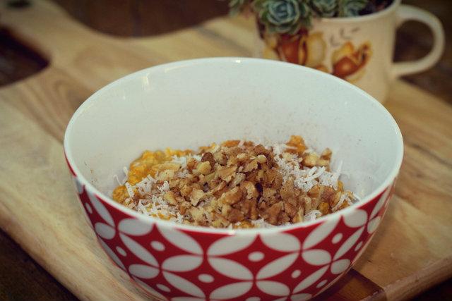 Pumpkin pie porridge