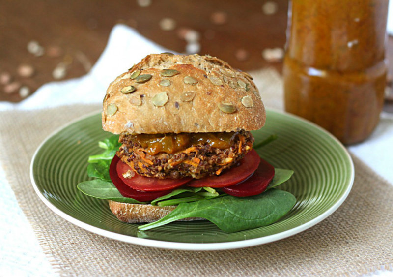Bean and Quinoa burgers || to her core