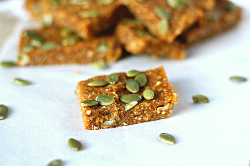 gingery pumpkin bars - tohercore