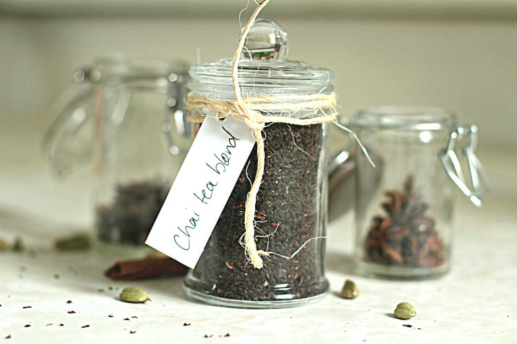 Masala chai tea blend | to her core