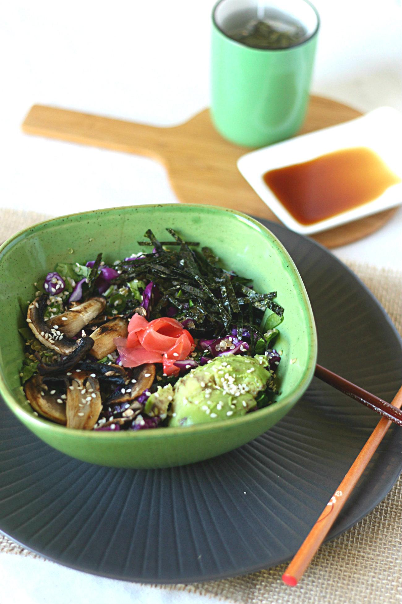 Grain-free sushi bowls