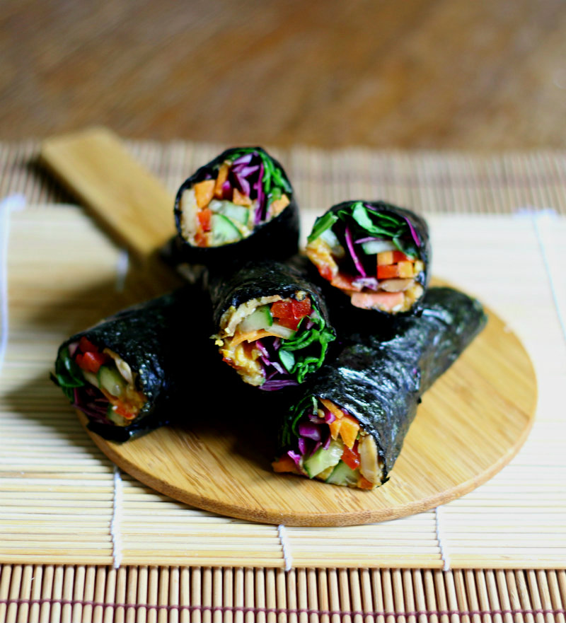 grain free nori rolls || to her core