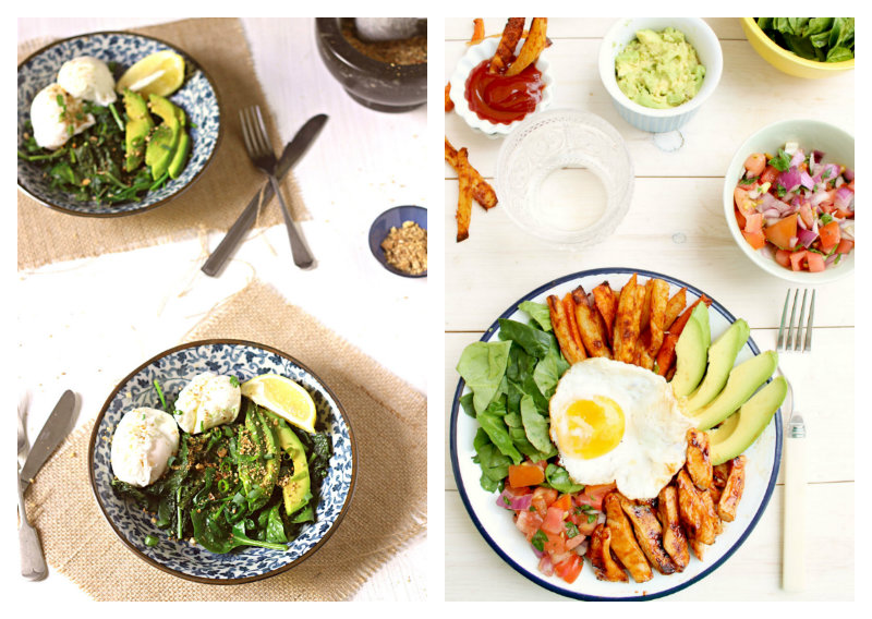 savoury egg breakfast dishes - to her core