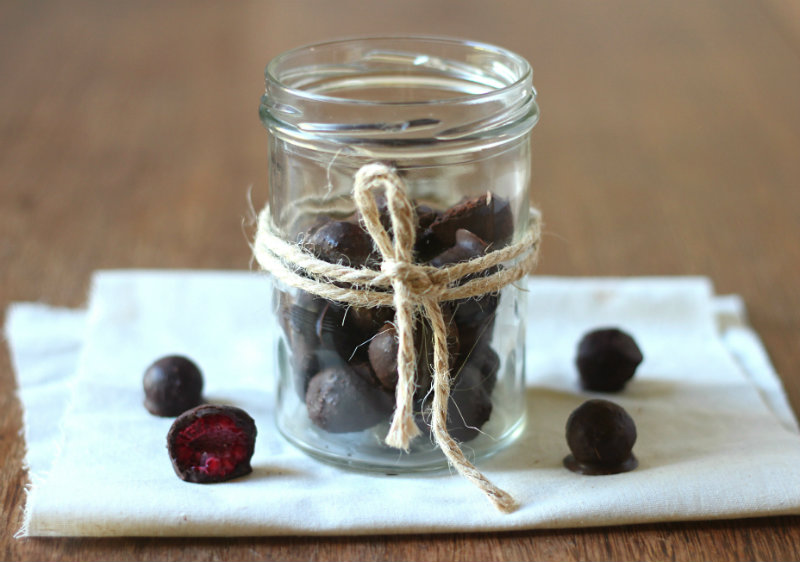 Quick and easy healthier chocolate treats by to her core