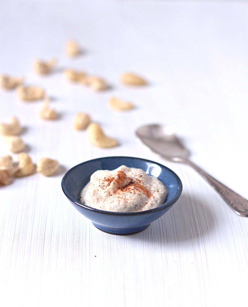 Coconut cashew cream - to her core