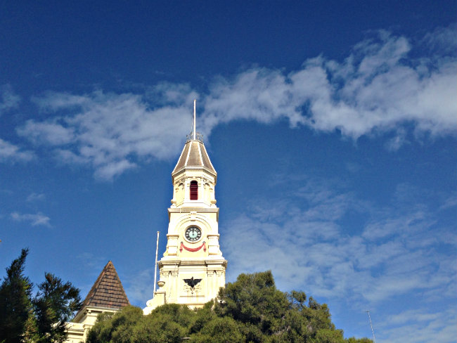 Fremantle church - to her core