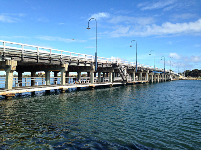Mandurah bridge - to her core