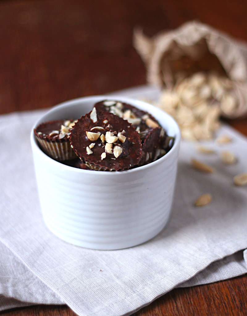 choc peanut butter cups - to her core 1