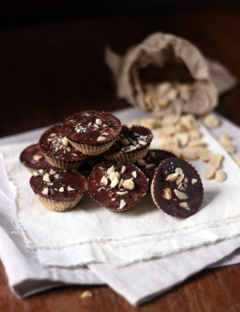 chocolate peanut butter cups - tohercore