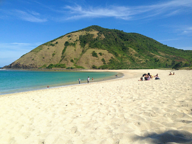 mawun beach, lombok, to her core