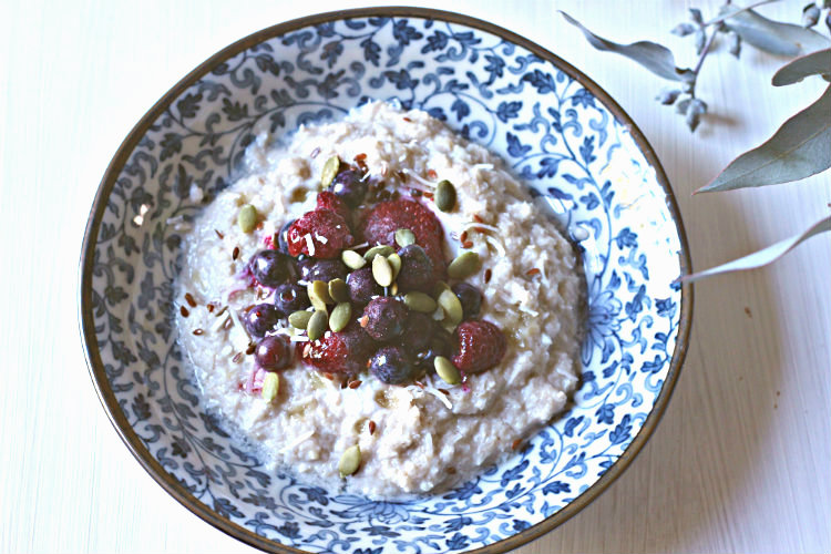 Creamy grain-free, veggie-packed porridge | to her core