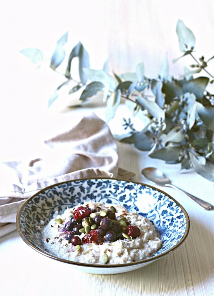 Creamy grain-free, veggie-packed porridge | to her core
