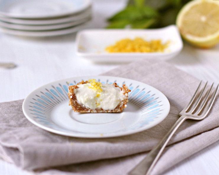 zesty lemon cream cups (very low sugar, gluten free, dairy free) | to her core