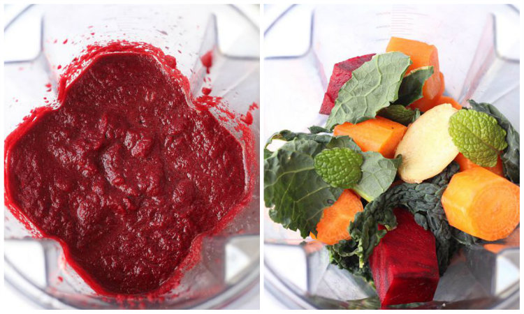 how to make juice with a blender - to her core