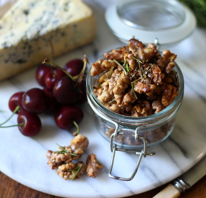 Roasted Rosemary Walnuts Recipes — Dishmaps