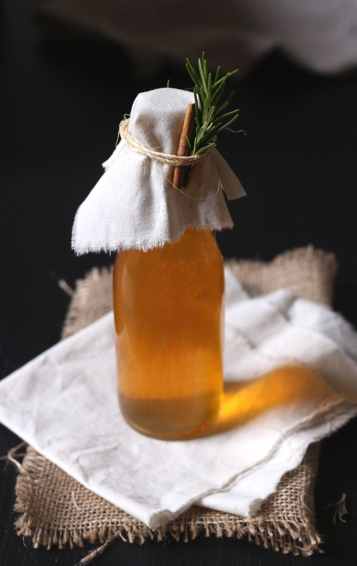 Gingerbread spice kombucha - to her core