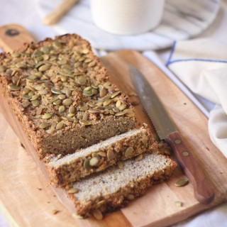 Savoury zucchini and quinoa loaf