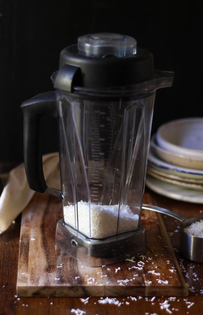 Homemade coconut milk + flour - to her core