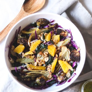 Winter detox salad