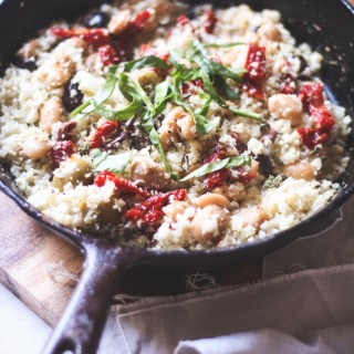 Mediterranean Cauliflower Couscous - to her core