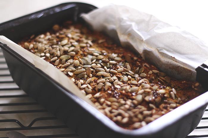 Savoury zucchini and quinoa loaf - tohercore