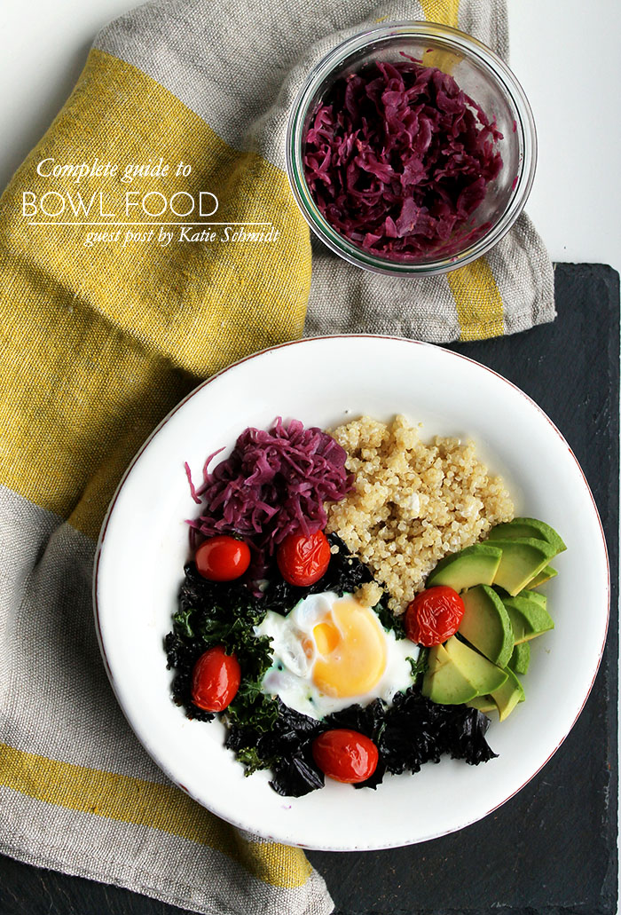 Guide to Bowl foods  - Whole Nourishment - to her core