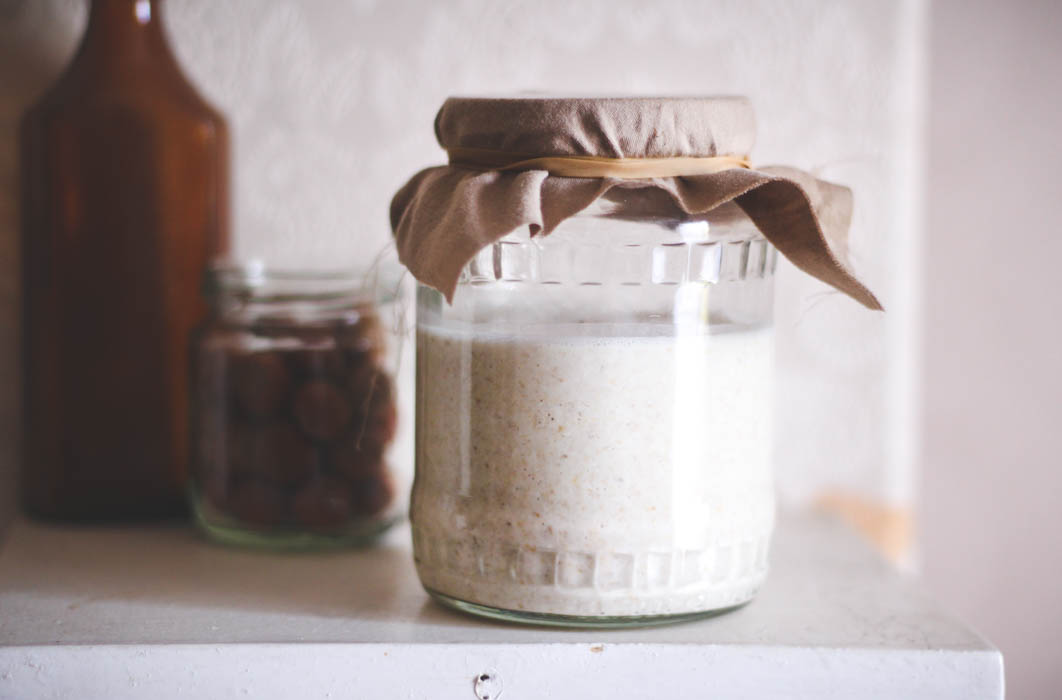 Fermented sourdough oats - to her core