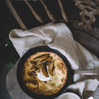 Single-serve dutch baby - to her core