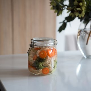 Easy fermented vegetables