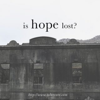 Conversations: Is hope lost?
