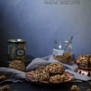 Wattleseed + Macadamia Anzac biscuits