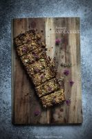 Savoury granola bars - to her core