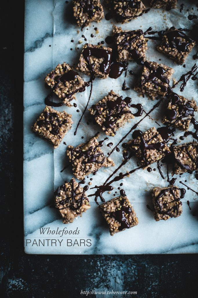 Wholefood pantry bars - to her core