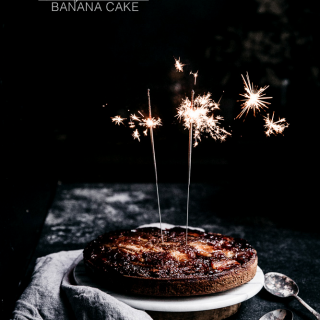 Beauty-on-the-inside banana cake