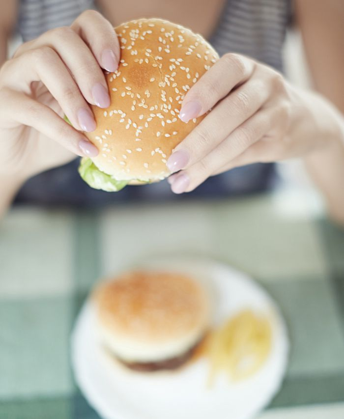 Is it okay to eat unhealthy food in moderation?