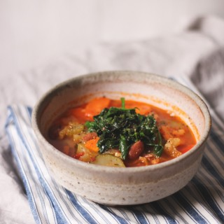 Zuppa di Mumma homemade vegetable soup - to her core