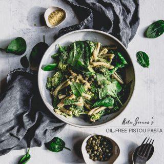 Rita Serano oil-free pistou pasta || To Her Core